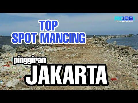TOP SPOT MANCING JAKARTA  TOP LAND BASED FISHING SPOT JAKARTA
