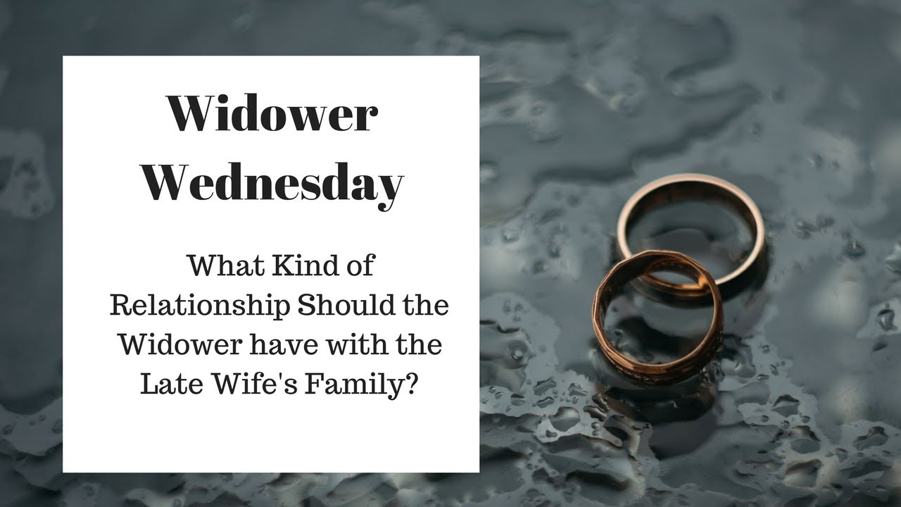 Coping with dating a widower