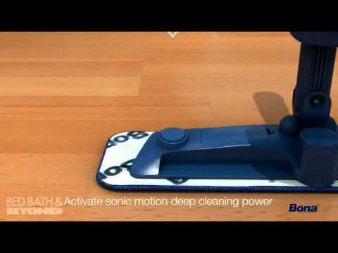 Bona Hardwood Floor Mop Motion At Bed Bath Amp Beyond Youtube