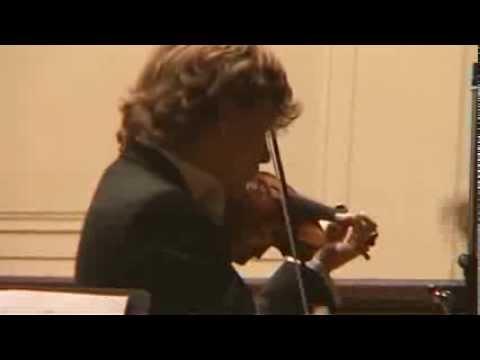Manrico Padovani plays SARASATE CARMEN Fantasy  op. 25 live, Smetana Hall Prague