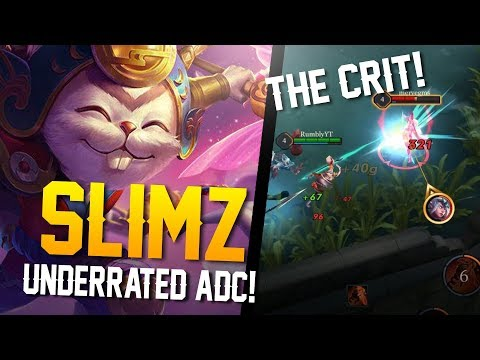 Arena of Valor Skins - UNDERRATED ADC!! Slimz [Lunar Bunny] Gameplay