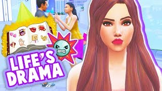 ROBBERS, RUNAWAY BRIDE, LOST TODDLERS + MORE! // THE SIMS 4 | LIFE'S DRAMA MOD REVIEW