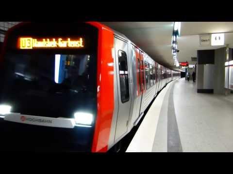 U-Bahn Hamburg - Der neue DT5 [1080p-HD]