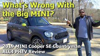2019 MINI Cooper SE Countryman ALL4 PHEV Review - We Test the Big MINI