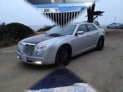 2011 To 2015 Chrysler 300 Bodykit With Bumper Lip Youtube
