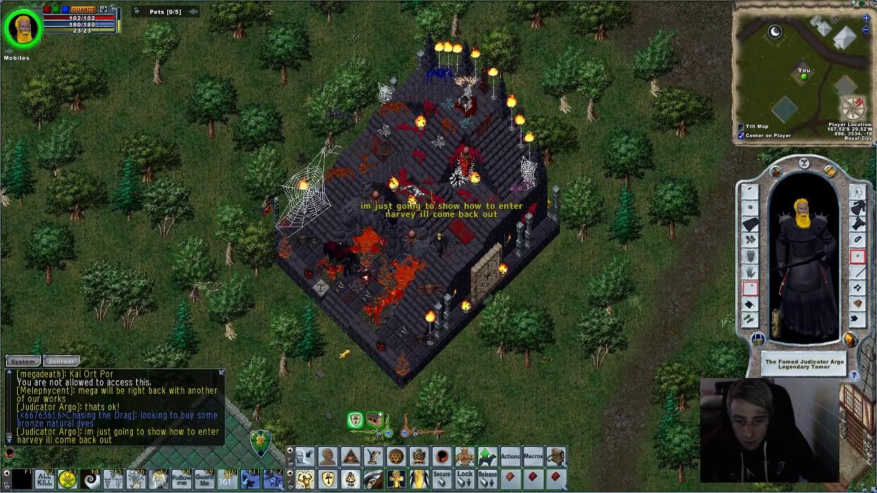 Ultima Online Atlantic Server  (Amazing House Tours)