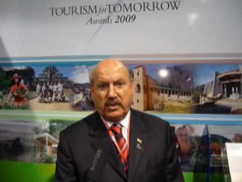 HE Luiz Henrique da Silveira, Governor of the State of Santa @ WTTC 2009