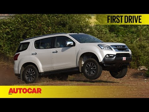 ISUZU MU X | First Drive | Autocar India