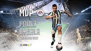 Paulo Dybala wins September MVP powered by EA Sports!