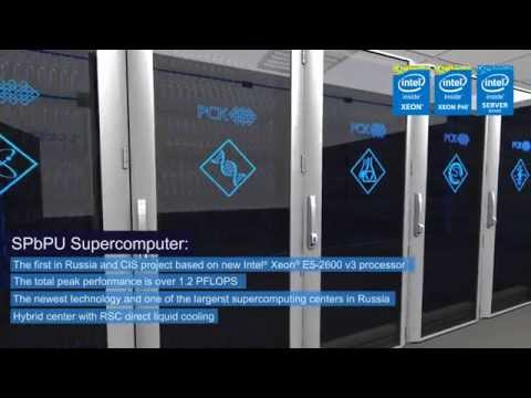 1.1PFLOPS Supercomputer at St. Petersburg State Polytechnical University