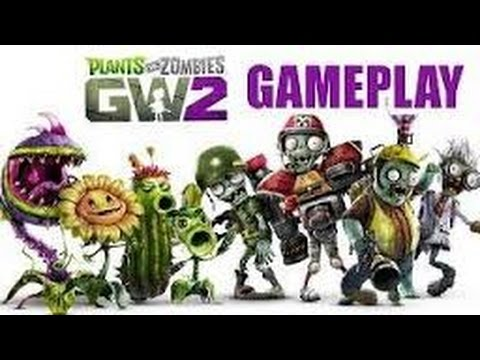 Plants vs Zombies Garden Warfare 2. Grave Yard Ops, Hard, Tank Commander +2 AI