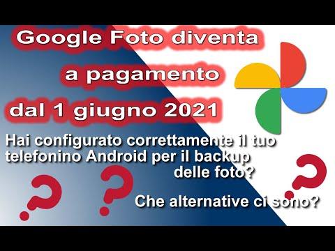 Google Foto diventa a pagamento. Se hai un telefono Android dovresti guardare questo video.