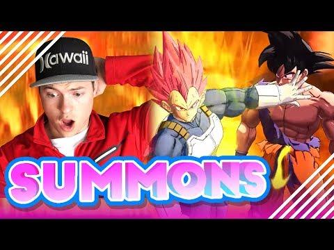 SSG VEGETA SUMMONS   Dragon Ball Legends