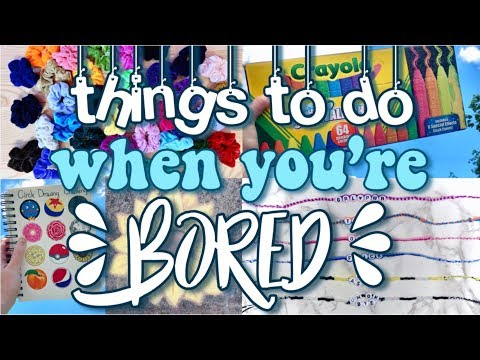 50 Things to do when you're Bored! (at home/in summer) thumbnail