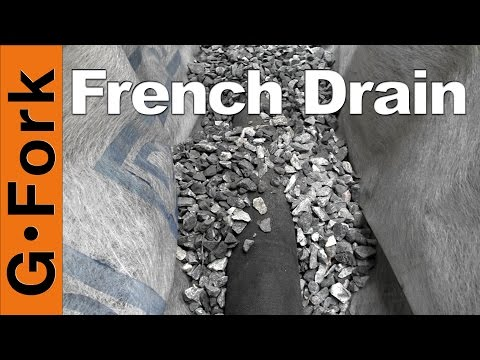 How To Put In A French Drain  GardenFork
