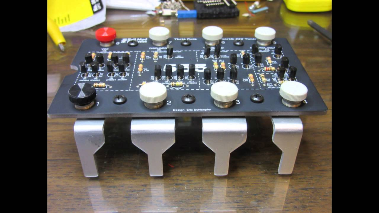 Building The Three Fives Discrete 555 Timer Kit Youtube Special Function Circuits Lm555