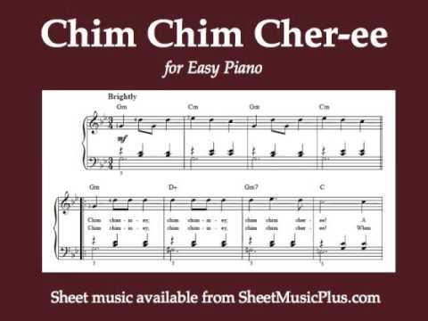chim chimney sheet music pdf