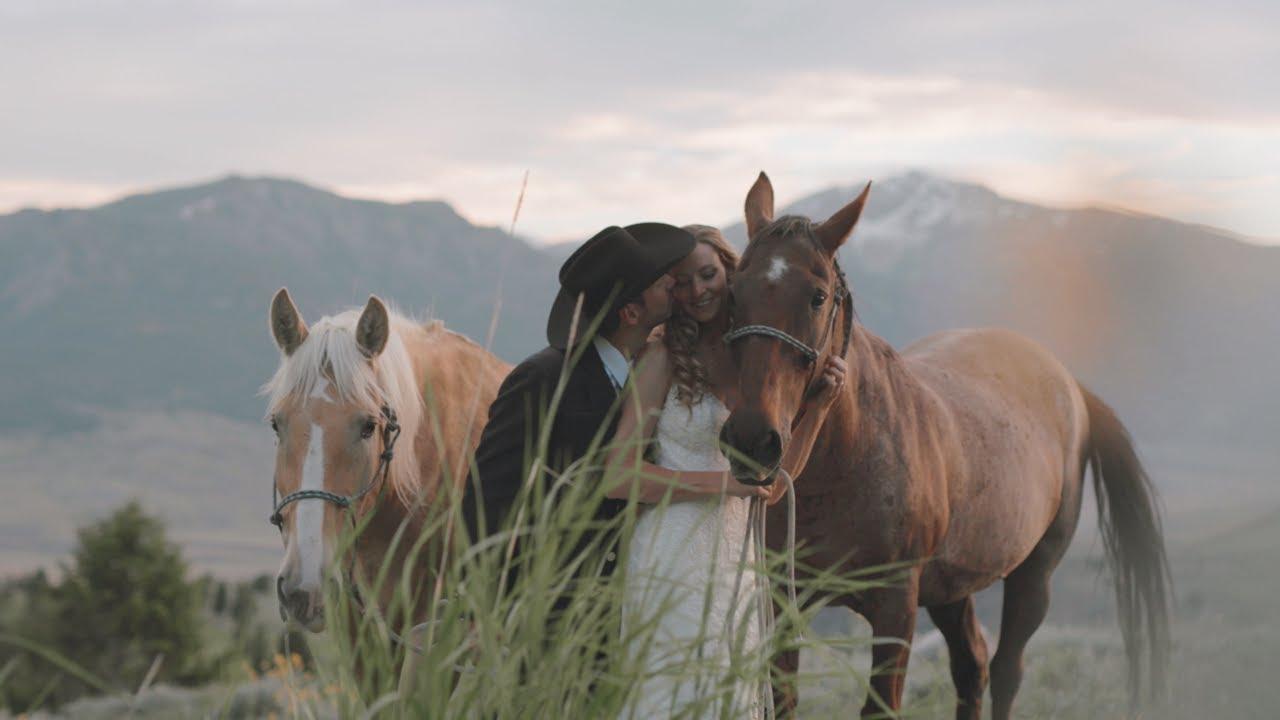 West Yellowstone Wedding Video