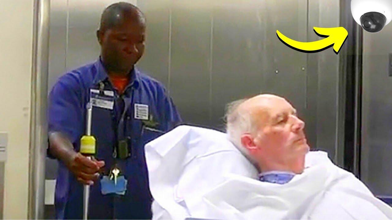 Download Il ne Fait Que Conduire un Patient à sa Chambre, Mais ce que la Caméra Filme Devient Viral