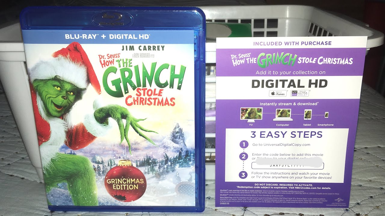 How The Grinch Stole Christmas FREE Digital Code