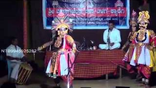 Yakshagana video NTB Sri Kanni GanapatiBhat  BadaguNrupala