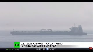 US revokes visas from seized tanker crew, ups tensions with Iran