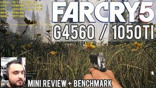 🎮 Teste Far Cry 5 - Pentium G4560 / GTX 1050 Ti 4GB - Full HD Low, Normal, Alto (+ Mini Review)