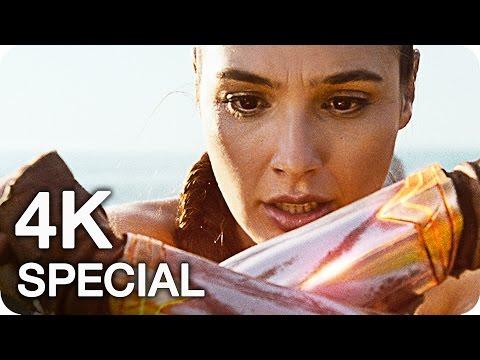 WONDER WOMAN Trailer & Clips 4K UHD (2017)