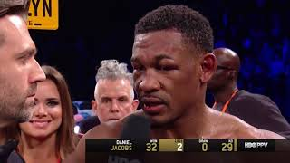 Golovkin vs Jacobs Post Fight Interview