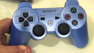 UNBOXING: PS3 Dualshock 3 Wireless Controller (Candy Blue)