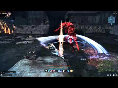 Vindictus KOR server Arisha new skill test