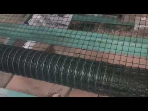 plastic mosquito net or square net production line and technology
