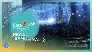 OFFICIAL RECAP: The second Semi-Final of the 2018 Eurovision Song Contest
