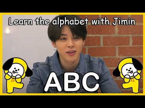 LEARN THE ALPHABET WITH BTS' JIMIN