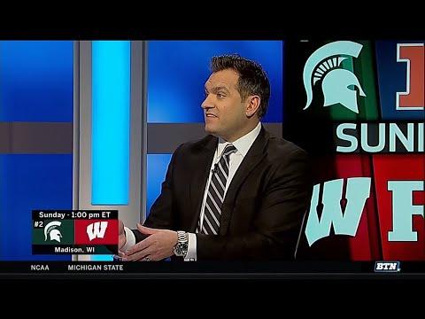 Jon Crispin on Michigan State at Wisconsin