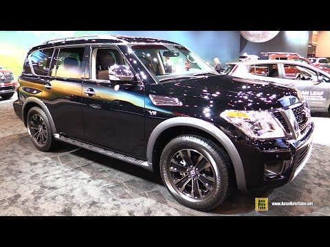 2017 Nissan Armada Platinum Exterior and Interior Walkaround 2017 Chicago Auto Show
