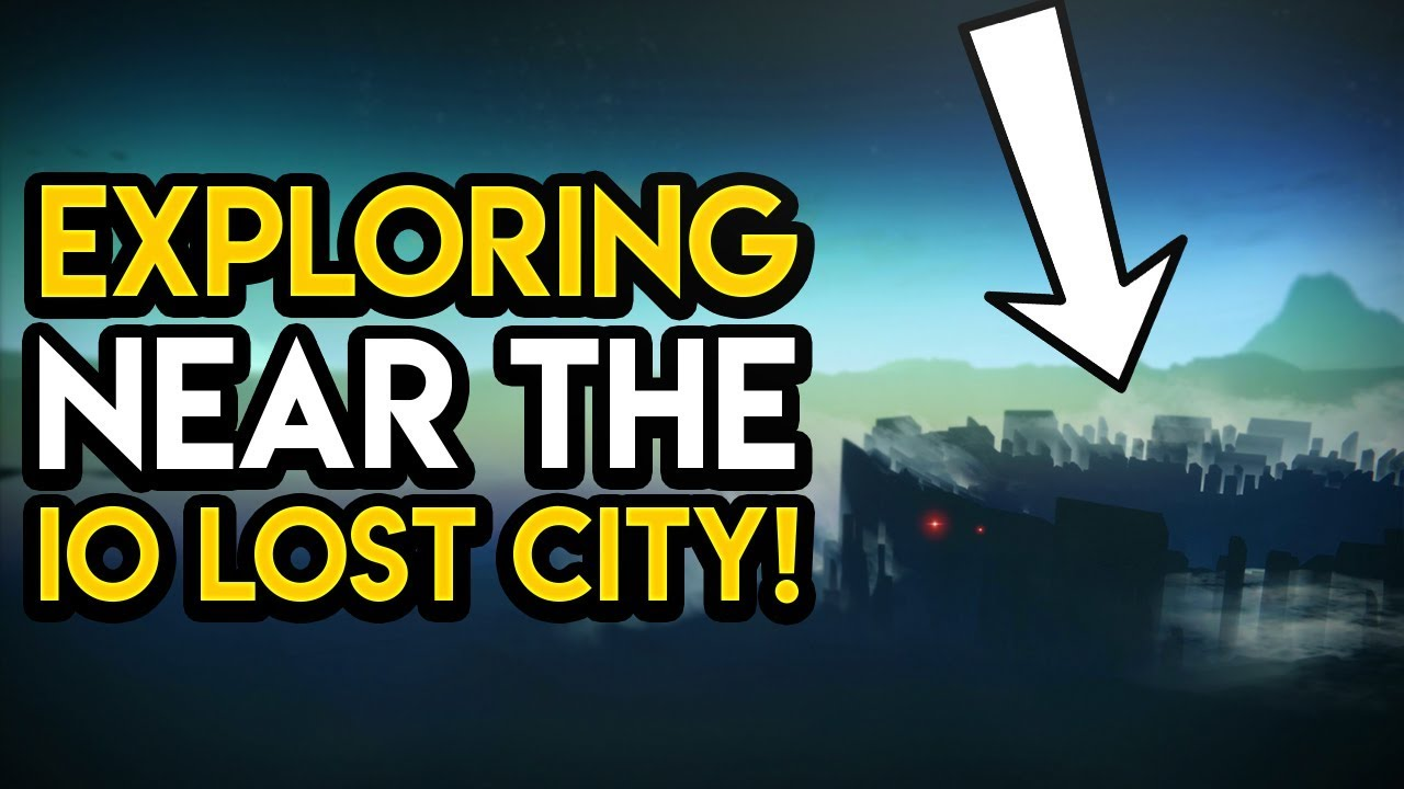 Destiny 2 - EXPLORING THE LOST CITY ON IO!