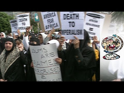 Anti-Americanism On The Streets Of Cape Town (1998)
