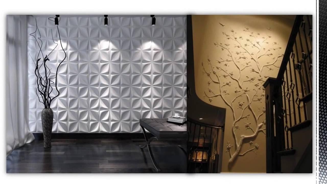 Ristrutturazione parete wall decor 3d pannelli decorativi parete casa cartone pressato - Tavole adesive per pareti 3d ...