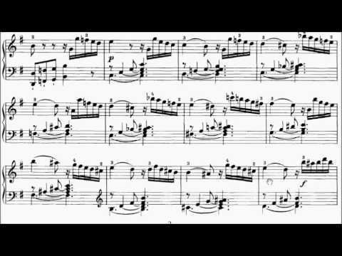 ABRSM Piano 2017-2018 Grade 8 B:3 B3 Haydn Presto Sonata in E Minor Movt 1 Hob.XVI.34 Sheet Music
