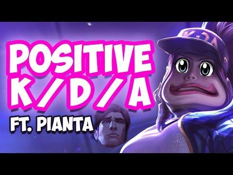 Positive KDA on K/DA Skins Ft. Pianta
