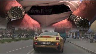 Złote Ferrari i rejestracja: ''K1 ROLEX'' - Czy można chcieć czegoś więcej? - [Duży w Maluchu EXTRA]