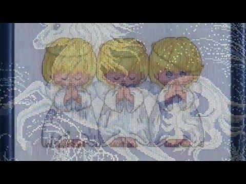 Что вышить, чтобы забеременеть: могут ли три ангелочка