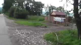 Иркутская область.Слюдянка (прогулка по окрестностям Байкала)(Июль 2014 года Иркутская область,южное побережье озера Байкал город Слюдянка.База отдыха