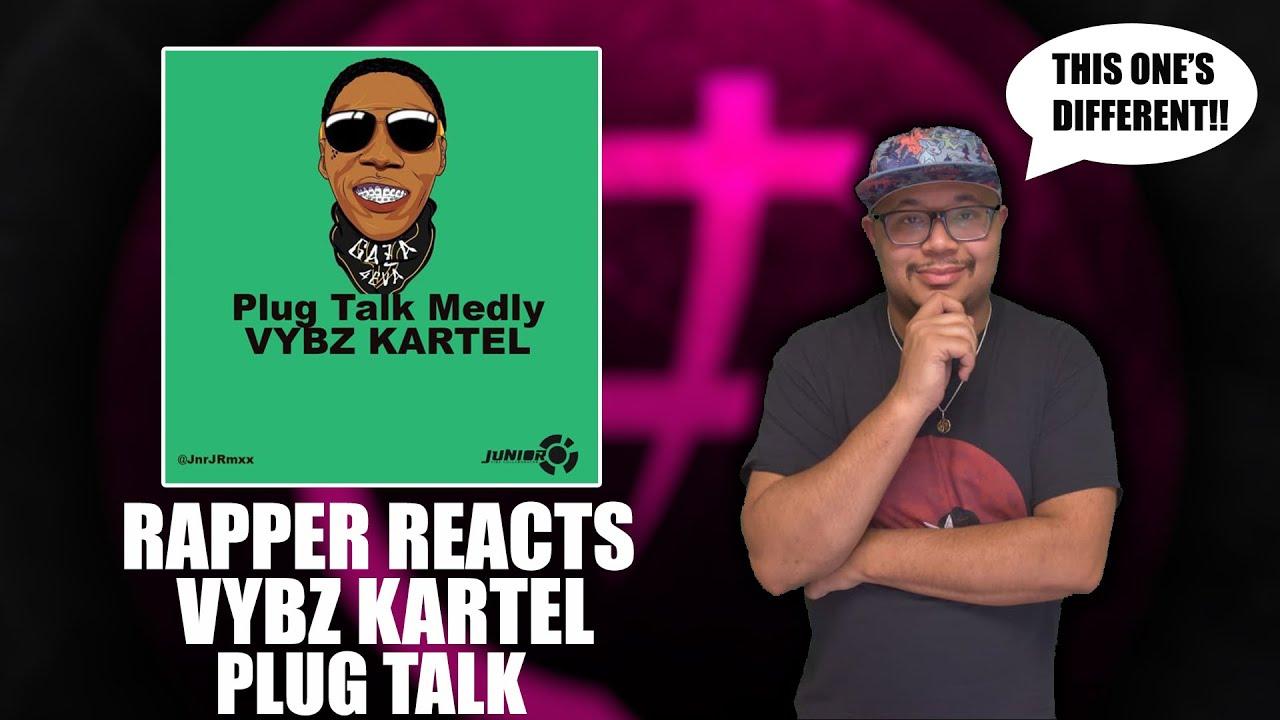 Download Rapper Reacts To Vybz Kartel - Plug Talk