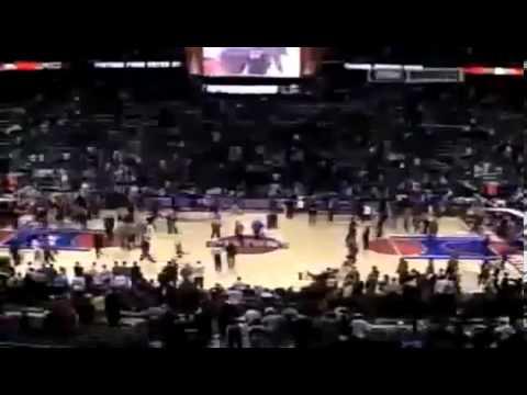 Ron Artest Fight vs. Pistons
