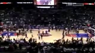 Ron Artest Fight vs. Pistons