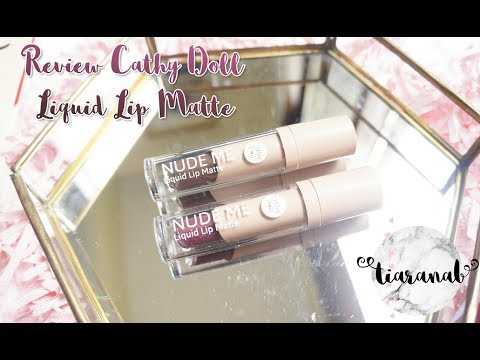 Review Cathydoll Nude Me Liquid Lipmatte Bahasa Indonesia