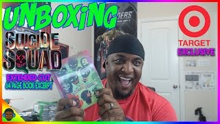UNBOXING Suicide Squad Extended Cut Target Exclusive Digibook Blu Ray