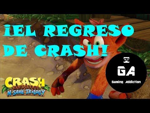 Crash Bandicoot N. Sane Trilogy - Analisis sobre el triunfal retorno de Crash
